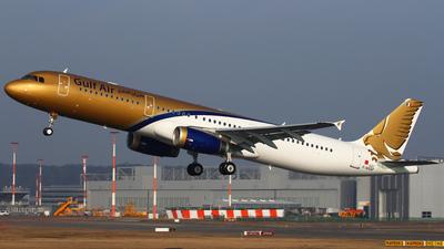 F-WXAF - Airbus A321-231 - Gulf Air