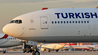 TC-JJM - Boeing 777-3F2ER - Turkish Airlines