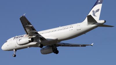 EP-IEB - Airbus A320-232 - Iran Air