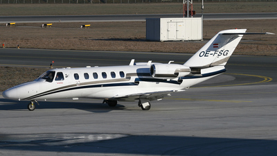OE-FSG - Cessna 525A CitationJet 2 - Tyrolean Jet Services