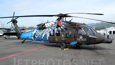 FAC4136 - Sikorsky MH-60L Ángel - Colombia - Air Force
