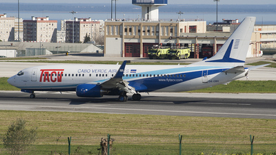 D4-CBX - Boeing 737-8Q8 - TACV Cabo Verde Airlines