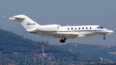N600AW - Cessna 750 Citation X - Private