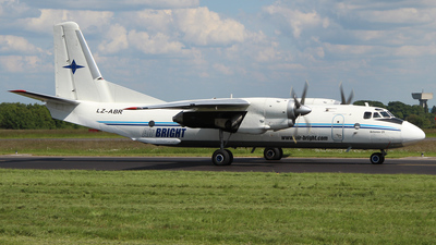 LZ-ABR - Antonov An-26B - Air Bright