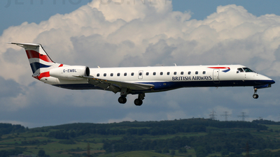G-EMBL - Embraer ERJ-145EU - British Airways (BA Connect)