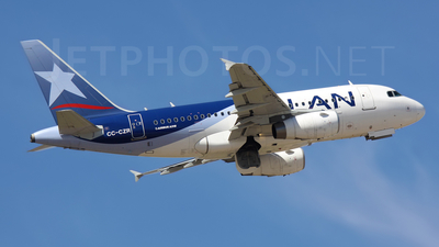 CC-CZR - Airbus A318-121 - LAN Airlines