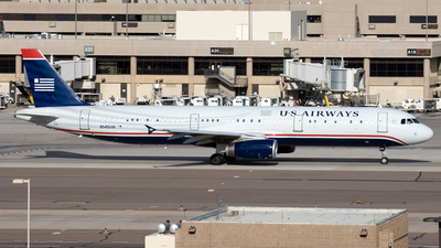 N545UW - Airbus A321-231 - US Airways
