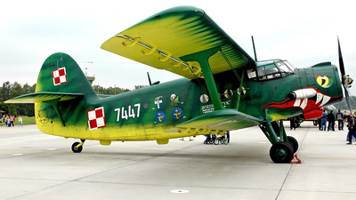 7447 - PZL-Mielec An-2 - Poland - Air Force