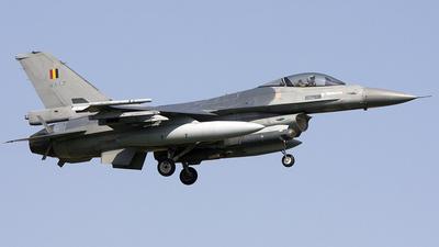 FA-67 - General Dynamics F-16AM Fighting Falcon - Belgium - Air Force