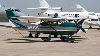 A picture of N8711T - Cessna 182C Skylane - [52611] - © Jeremy D. Dando