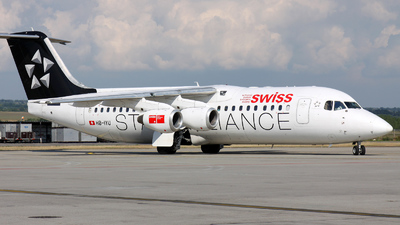 HB-IYU - British Aerospace Avro RJ100 - Swiss