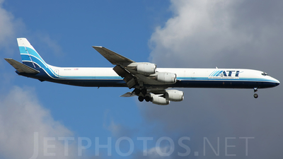 N828BX - Douglas DC-8-71(F) - BAX Global