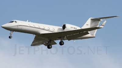 A picture of VHWXK - Gulfstream IV - [1265] - © Brandon Giacomin
