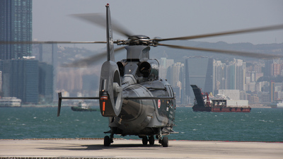 B-HRV - Eurocopter EC 155B Dauphin - Hong Kong - Government Flying Service (GFS)