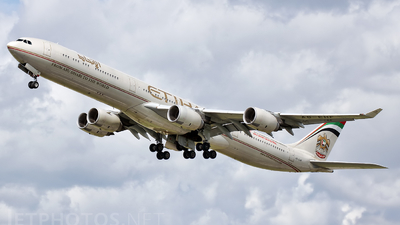 A6-EHF - Airbus A340-642 - Etihad Airways