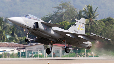 Kh20-6/54 - Saab JAS-39C Gripen - Thailand - Royal Thai Air Force