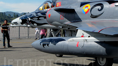 FAC3041 - IAI Kfir C12 - Colombia - Air Force