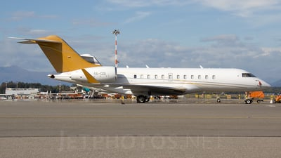 4X-COI - Bombardier BD-700-1A11 Global 5000 - Private