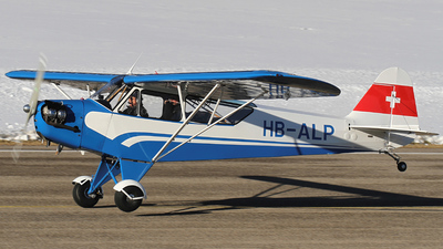A picture of HBALP - Piper J3C65 Cub - [12026] - © Jean-Charles Sautaux