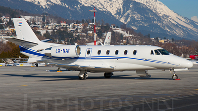 LX-NAT - Cessna 560XL Citation XLS - Private