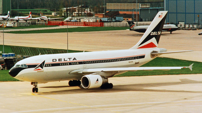 N812PA - Airbus A310-324 - Delta Air Lines