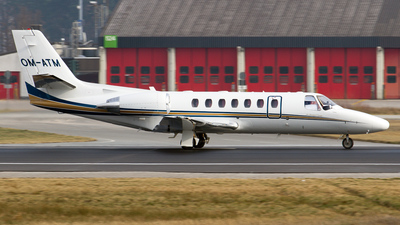 OM-ATM - Cessna 560 Citation Encore - Air Transport Europe (ATE)