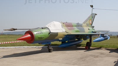 9808 - Mikoyan-Gurevich MiG-21MF Lancer A - Romania - Air Force