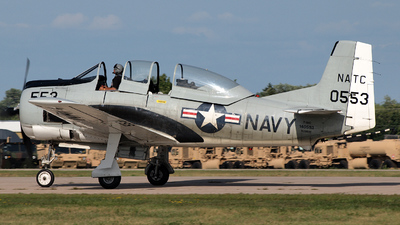 N28941 - North American T-28C Trojan - Private