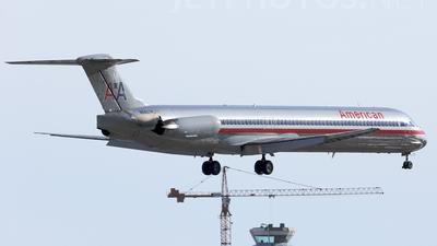N9407R - McDonnell Douglas MD-83 - American Airlines
