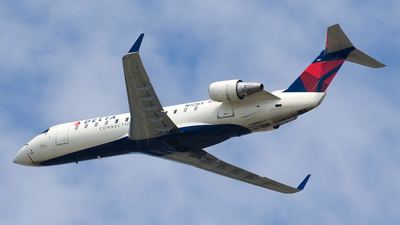 A picture of N921EV - Mitsubishi CRJ200LR - Delta Air Lines - © Jeremy D. Dando