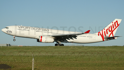 VH-XFD - Airbus A330-243 - Virgin Australia Airlines