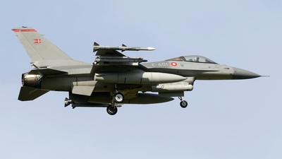 E-601 - General Dynamics F-16AM Fighting Falcon - Denmark - Air Force