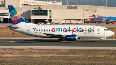 LY-FLC - Boeing 737-31S - Small Planet Airlines