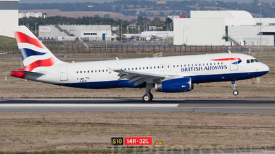 F-WWBQ - Airbus A320-232 - British Airways