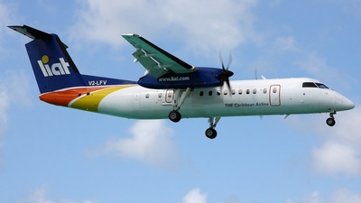V2-LFV - Bombardier Dash 8-311 - Leeward Islands Air Transport (LIAT)