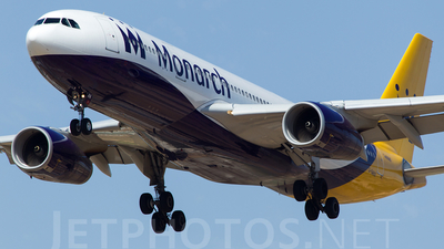 G-SMAN - Airbus A330-243 - Monarch Airlines