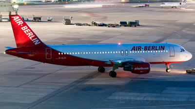 D-ALTK - Airbus A320-214 - Air Berlin