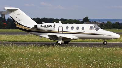 F-HJAV - Cessna 525 CitationJet 1 - Private