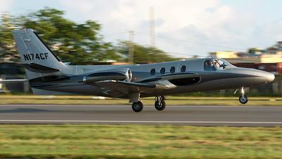 N174CF - Cessna 501 Citation - Private