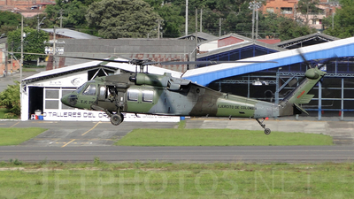 EJC-2169 - Sikorsky UH-60L Blackhawk - Colombia - Army