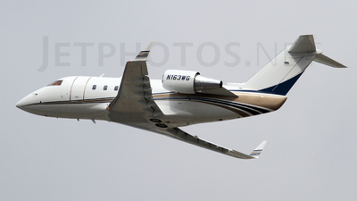 N163WG - Bombardier CL-600-2A12 Challenger 601 - Private