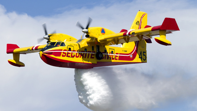 F-ZBMF - Canadair CL-415 - France - Sécurité Civile