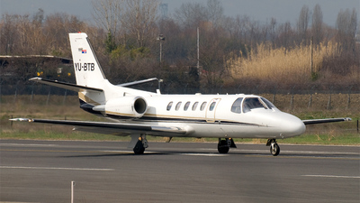 YU-BTB - Cessna 550B Citation Bravo - Private
