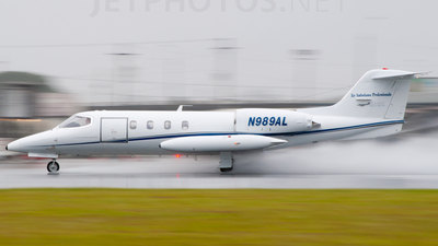 N989AL - Gates Learjet 35A - Private