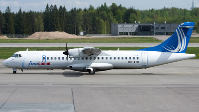 OH-ATH - ATR 72-212A(500) - Finncomm Airlines