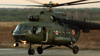 606 - Mil Mi-17AE Hip - Poland - Army