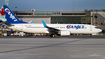 C-GDGT - Boeing 737-8Q8 - CanJet Airlines