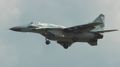 RF-23292 - Mikoyan-Gurevich MiG-29SMT Fulcrum C - Russia - Air Force