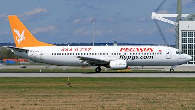 TC-SGE - Boeing 737-48E - Pegasus Airlines