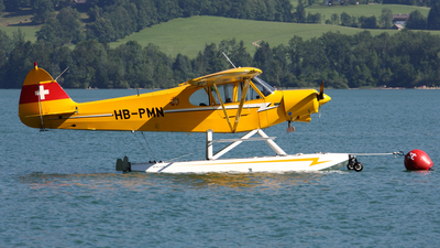 HB-PMN - Piper PA-18-150 Super Cub - Private